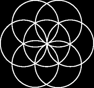 Sistermind Circle Logo - White